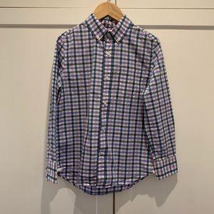 Boys, multi-color, plaid, Crewcuts shirt